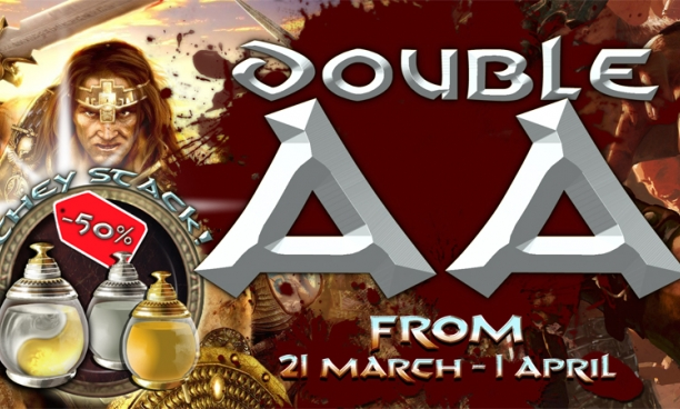 Double AA and Potion Sale