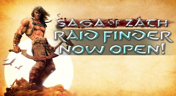 Raid Finder Now Open on Saga of Zath