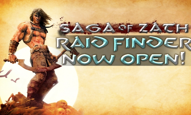 Raid Finder Now Open on Saga of Zath