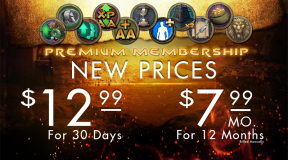 New Membership Pricing