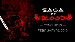 Saga of Blood Ends February 19: FAQ & Info