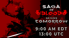 Saga of Blood Launch Time