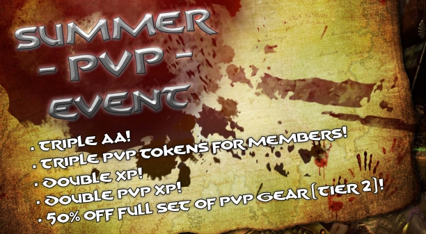 Summer PvP Event: Up to TRIPLE BONUSES!!!
