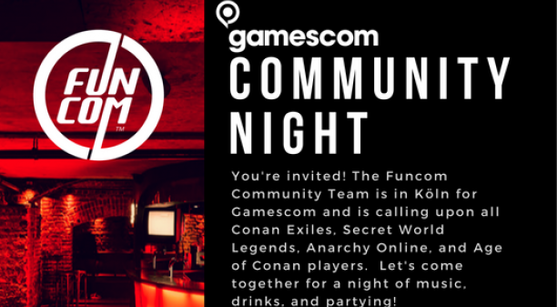 Gamescom Community Night!