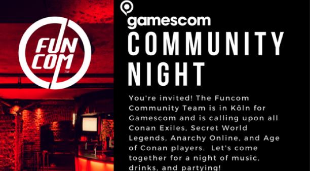 Gamescom Community Night!