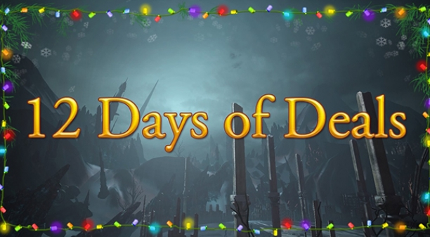 Starting Monday: The 12 Days of Deals!